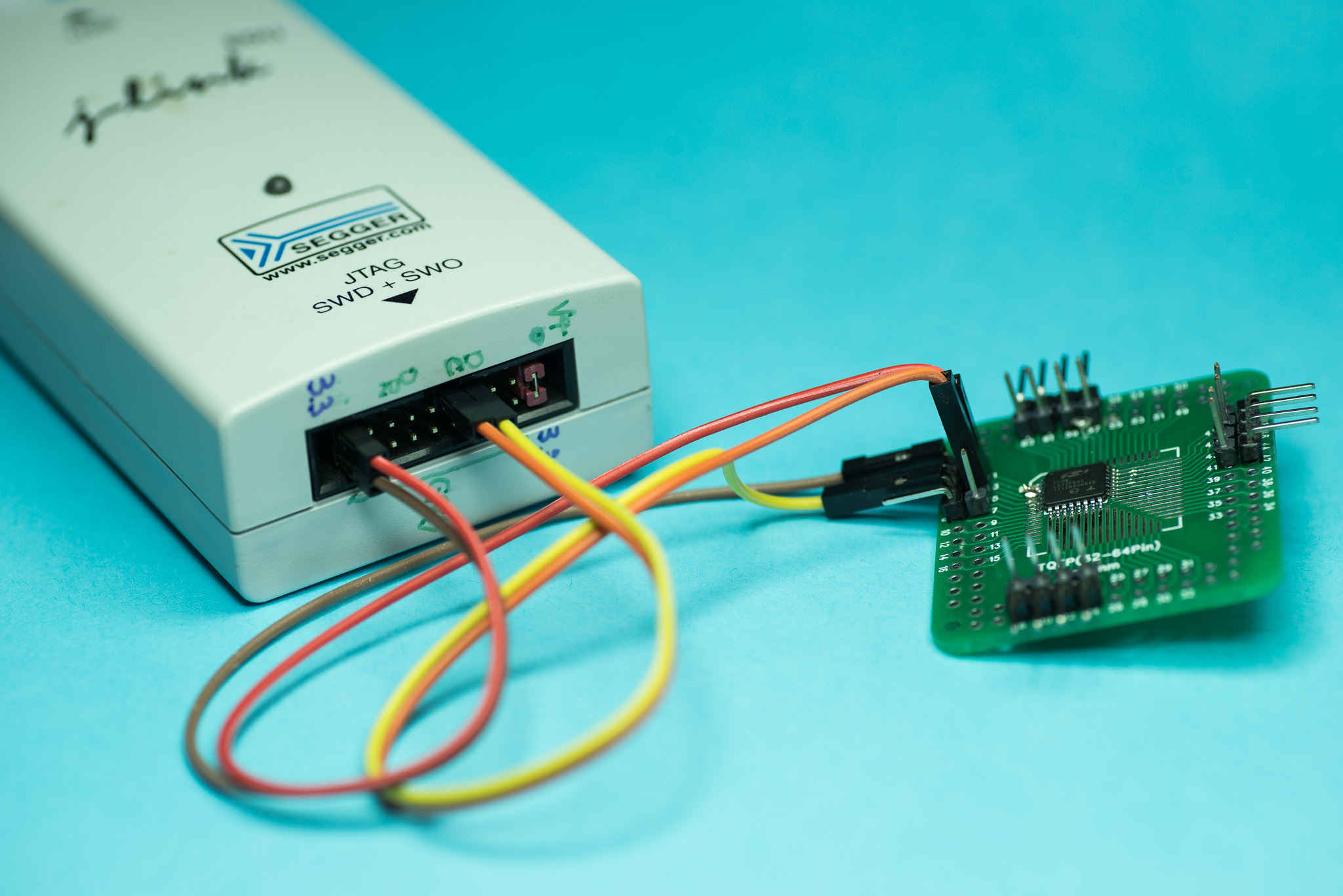 Make your J-Link less annoying with this two-wire 3 3V power